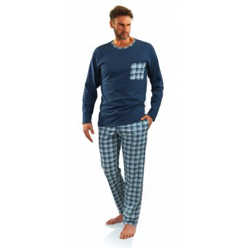 piżama męska długa 06 jeans...