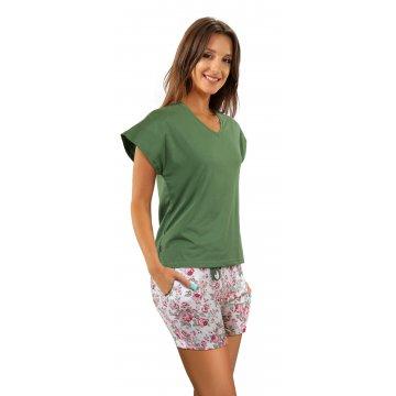 Piżama krótka damska...