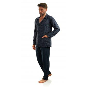 Męska piżama rozpinana...