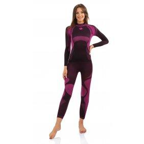 Koszulka damska termiczna Thermo active bielizna funkcyjna bezszwowa oddychająca antyalergiczna nordic walking różowa