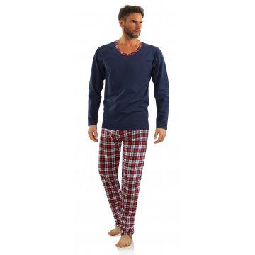 piżama męska długa WALDI...