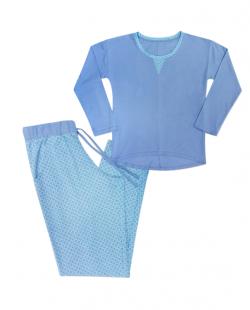 Krój piżamy - kolor na zdjęciu odbiega od rzeczywistego koloru produktu